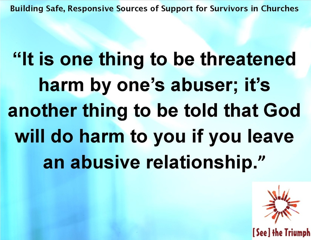 Domestic Violence Survivor Quotes The Stigma Of Intimate Partner Violence In Churches Part Three